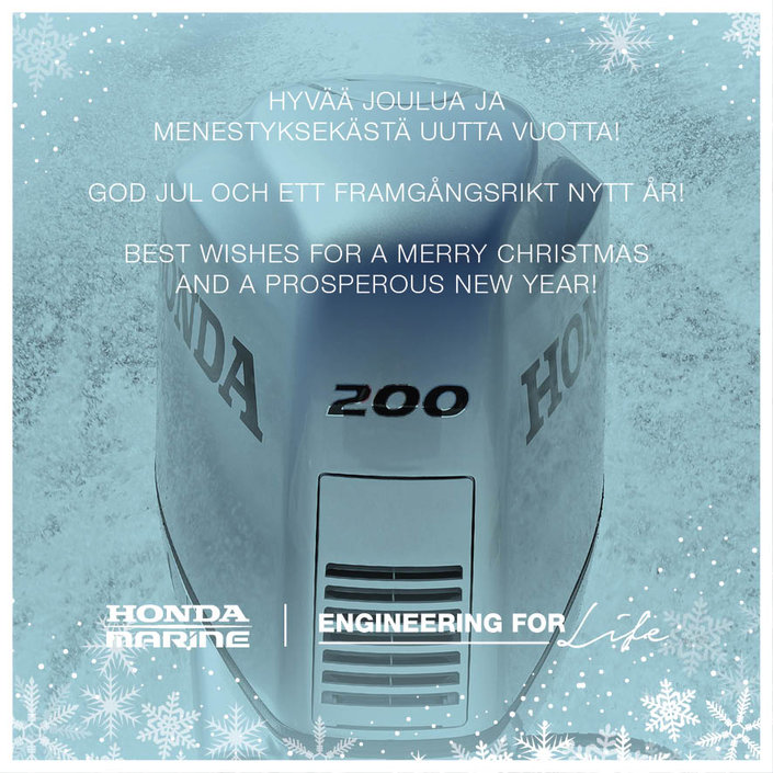 joulu 2018 tapahtumat Honda Marine Finland toivottaa Rauhallista Joulua & Energistä  joulu 2018 tapahtumat